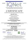 Certificato ISO 14001 IQNet