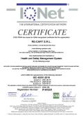 Certificato ISO 45001 IQNet