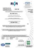 Certificato ISO 45001 RINA